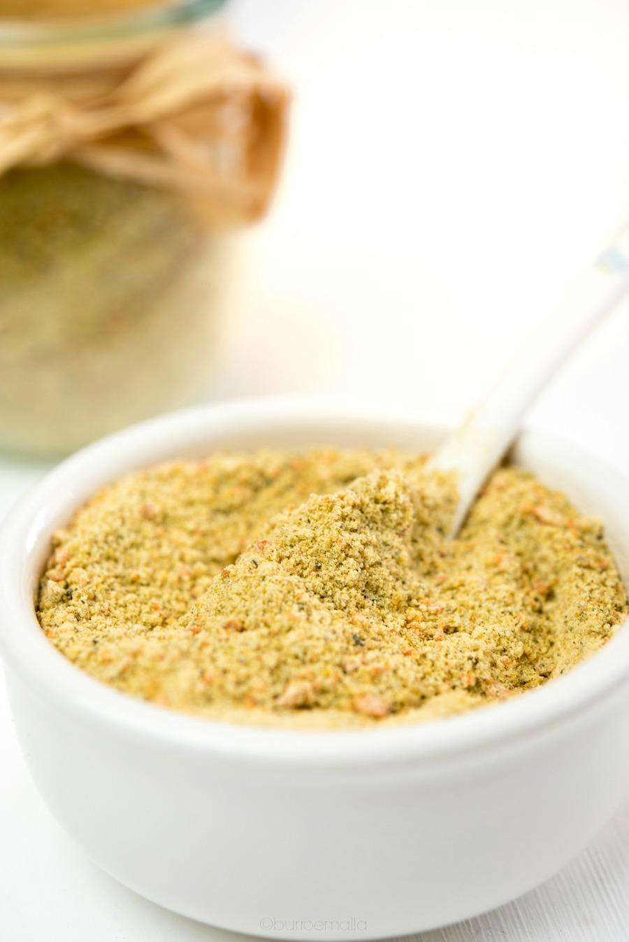 dado granulare vegetale e senza glutine
