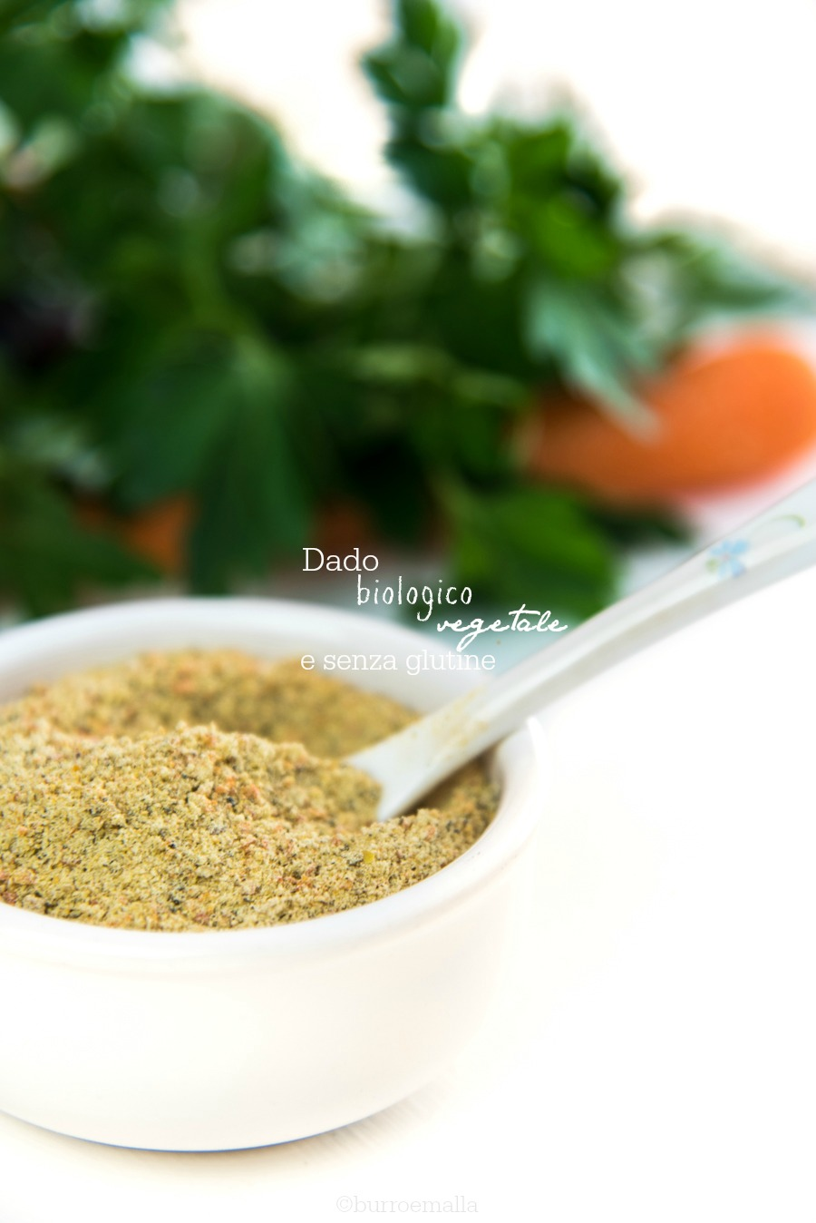 dado vegetale granulare biologico e senza glutine