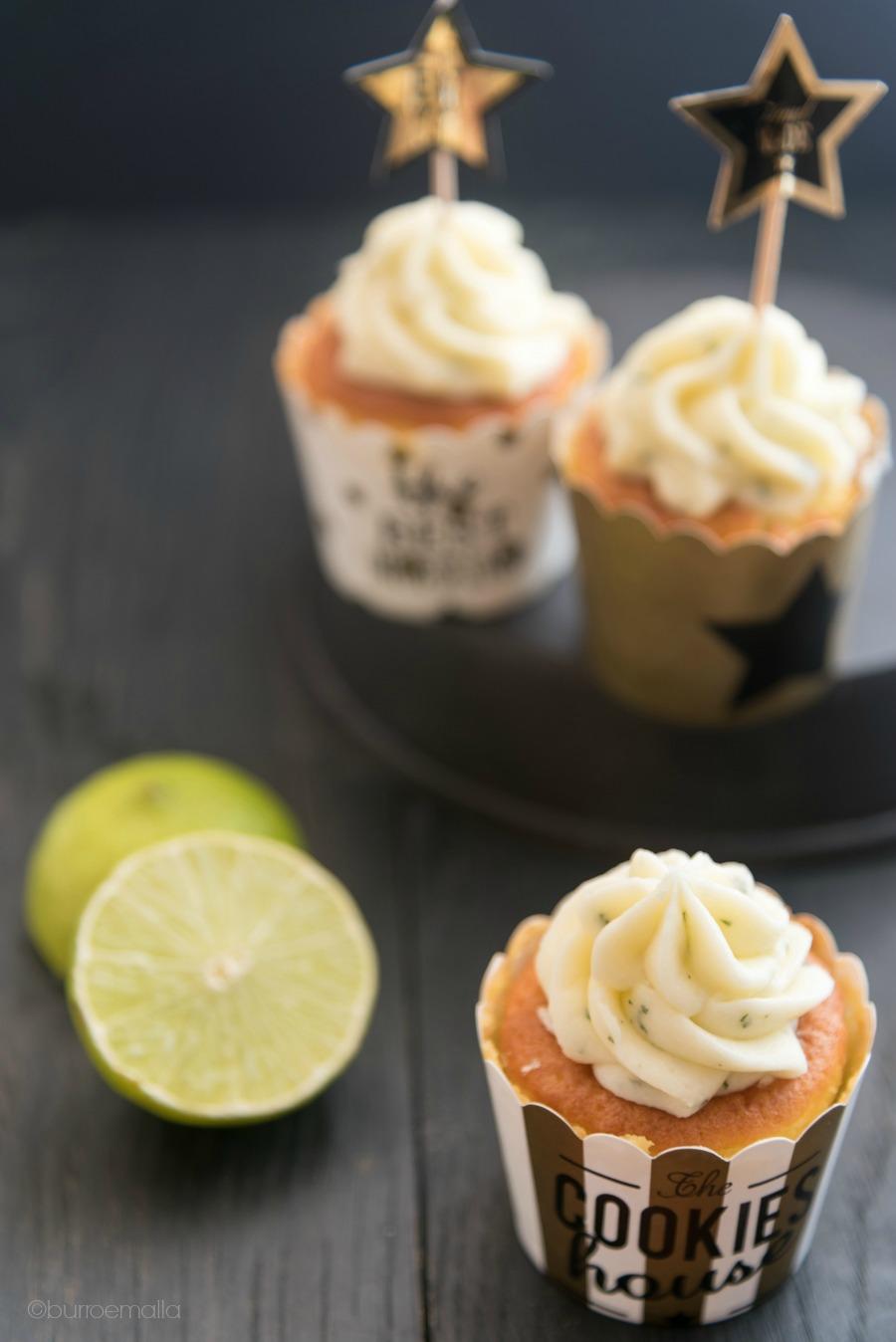 Cupcakes al profumo di ananas e mojito