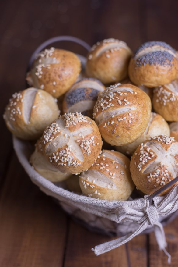 Laugenbrot: pretzel buns, la versione panino dei pretzels