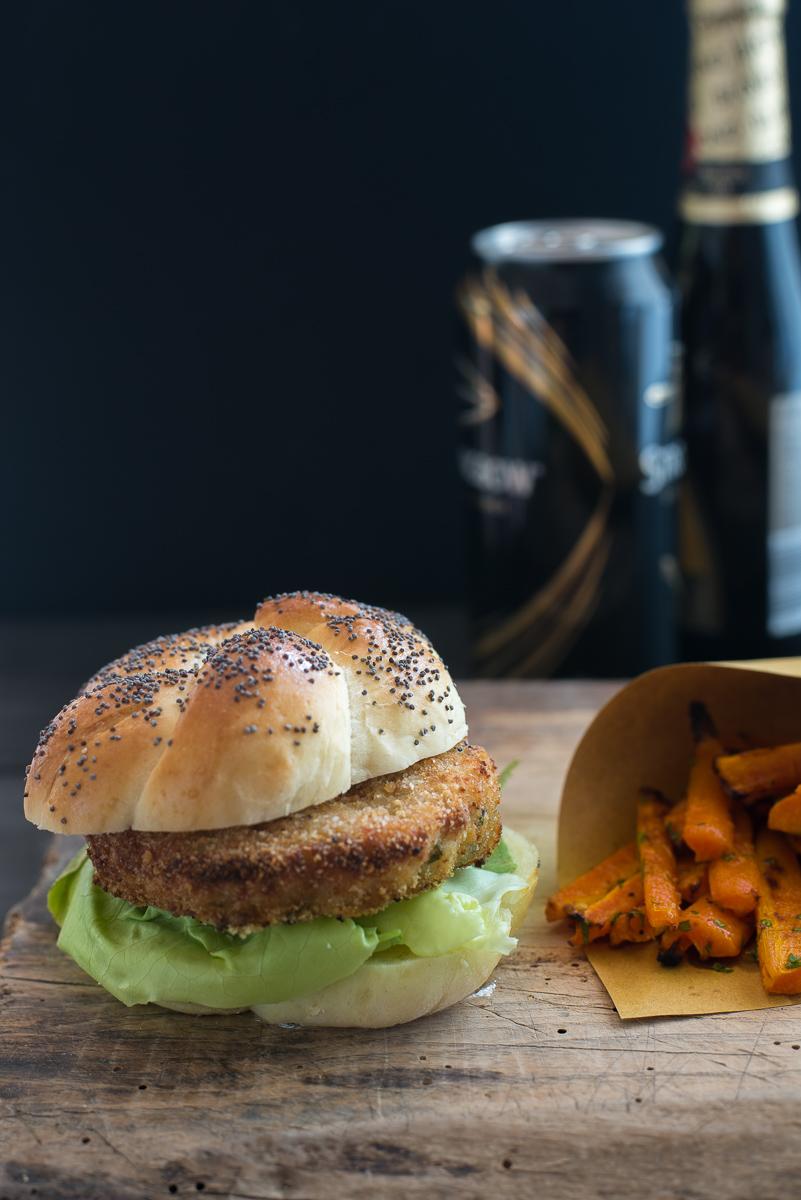 Prawn katsu burger la storia di Akiko Saito